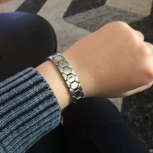 Fossil Steel Stretch Bracelet
